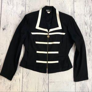 Vintage 80's Silky blazer jacket size 11-12